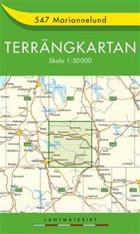 547 Mariannelund Terrängkartan : 1:50000