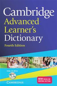 Cambridge Advanced Learner's Dictionary Fourth edition. Book with CD-ROM