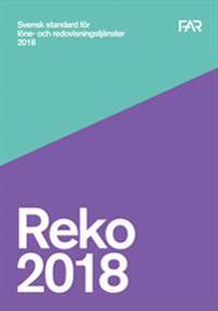 Reko Svensk standard för redovisnings- och lönetjänster 2018