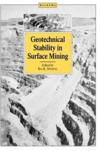 Geotechnical Stability in Surface Mining