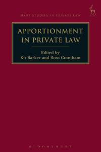Apportionment in Private Law