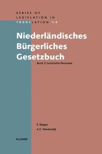 Niederlandisches Burgerliches Gesetzbuch Buch 2 Juristische Personen
