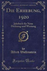 Die Erhebung, 1920, Vol. 2