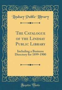 The Catalogue of the Lindsay Public Library