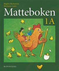 Matteboken Grundbok 1A