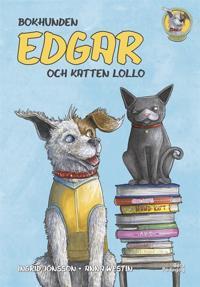 Bokhunden Edgar och katten Lollo