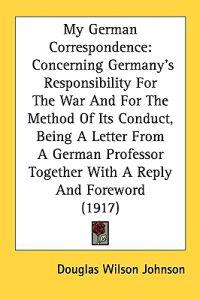 My German Correspondence