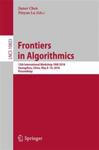 Frontiers in Algorithmics