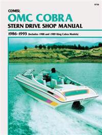 Clymer Omc Cobra Stern Drive Shop Manual 1986-1993