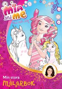 Mia and me - Min stora målarbok -  pdf epub