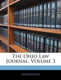 The Ohio Law Journal, Volume 3