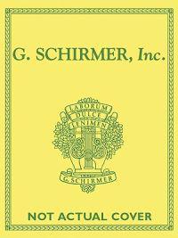 Schirmer Library of Classics Volume 780: Piano Solo