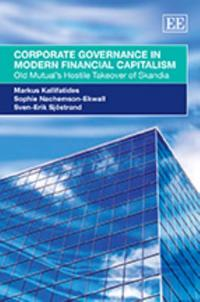 Corporate Governance in Modern Financial Capitalism