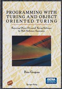 Programming With Turing and Object Oriented Turing/Book and Disk