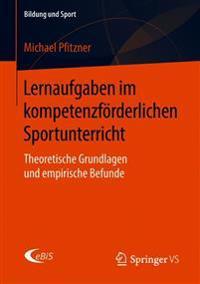 Lernaufgaben Im Kompetenzförderlichen Sportunterricht