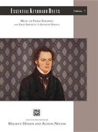 Essential Keyboard Duets, Vol 7: Music of Franz Schubert, Comb Bound Book