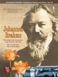 Johannes Brahms: Sonatas for Clarinet and Piano, Op. 120 Music Minus One Clarinet [With 2cds]