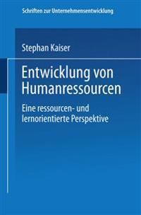 Entwicklung Von Humanressourcen