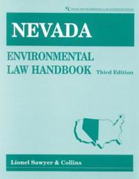 Nevada Environmental Law Handbook