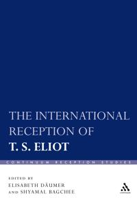 International Reception of T. S. Eliot