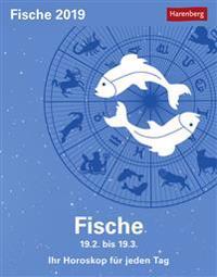 Sternzeichenkalender Fische 2019