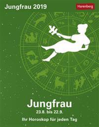 Sternzeichenkalender Jungfrau 2019