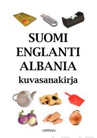 Suomi-englanti-albania kuvasanakirja