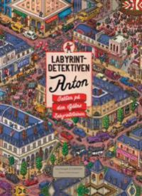Labyrintdetektiven Anton; Jakten på den stjålne labyrintsteinen - Chihiro Maruyama | Ridgeroadrun.org