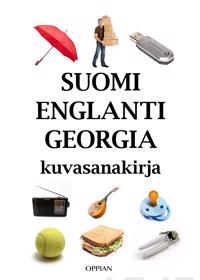 Suomi-englanti-georgia kuvasanakirja