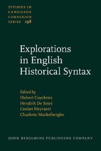 Explorations in English Historical Syntax