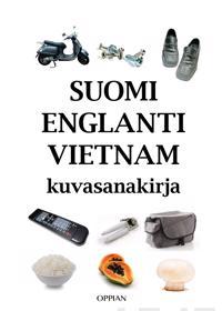 Suomi-englanti-vietnam kuvasanakirja
