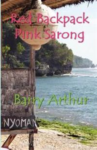 Red Backpack Pink Sarong