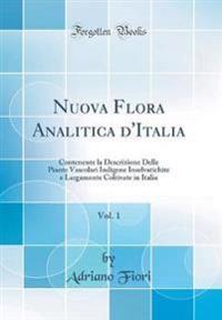 Nuova Flora Analitica d'Italia, Vol. 1