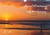 Abendstimmung auf Norderney (Wandkalender 2019 DIN A4 quer)