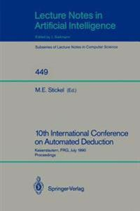 10th International Conference on Automated Deduction