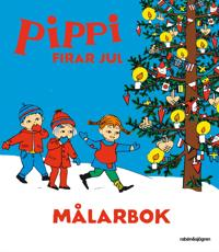 Pippi firar jul - Målarbok