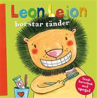 Leon Lejon borstar tänder