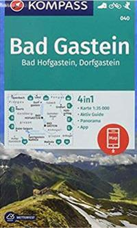 Kompass Wanderkarte Bad Gastein Bad Hofgastein Dorfgastein 1