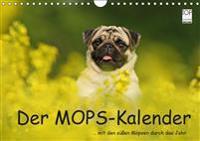 Der MOPS-Kalender (Wandkalender 2019 DIN A4 quer)