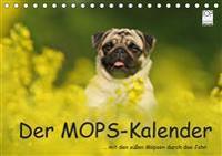 Der MOPS-Kalender (Tischkalender 2019 DIN A5 quer)