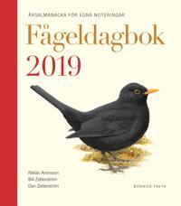 Fågeldagbok 2019 : årsalmanacka för egna noteringar