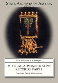 Imperial Administrative Records, part 1