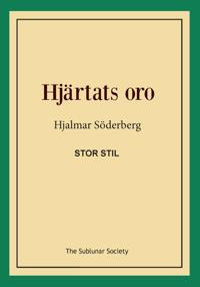 Hjärtats oro (stor stil) - Hjalmar Söderberg pdf epub