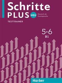Schritte plus Neu 5+6. Testtrainer mit Audio-CD