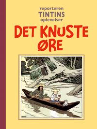 Reporteren Tintins oplevelser: Det knuste øre