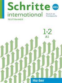 Schritte international Neu 1+2 / Kopiervorlagen. Testtrainer mit Audio-CD