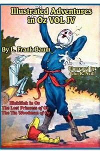 Illustrated Adventures in Oz Vol IV