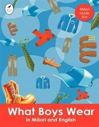 What Boys Wear in Maori and English