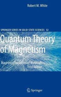 Quantum Theory of Magnetism