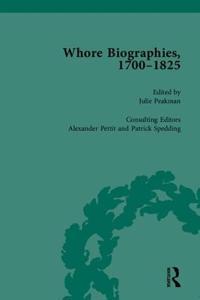Whore Biographies, 1700-1825